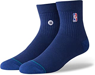 Men's M356D17LOG NBA Logoman QTR Casual Sock