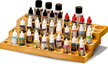 JACKCUBE Design Army Kits Acrylic Paint Wood Stand Organizer Rack MK456A