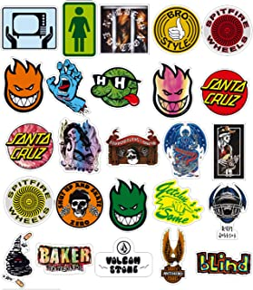 EKIND Not Repeat Graffiti Stickers for Tablet Skateboard Car Decals Bicycle (100Pcs, Logo)
