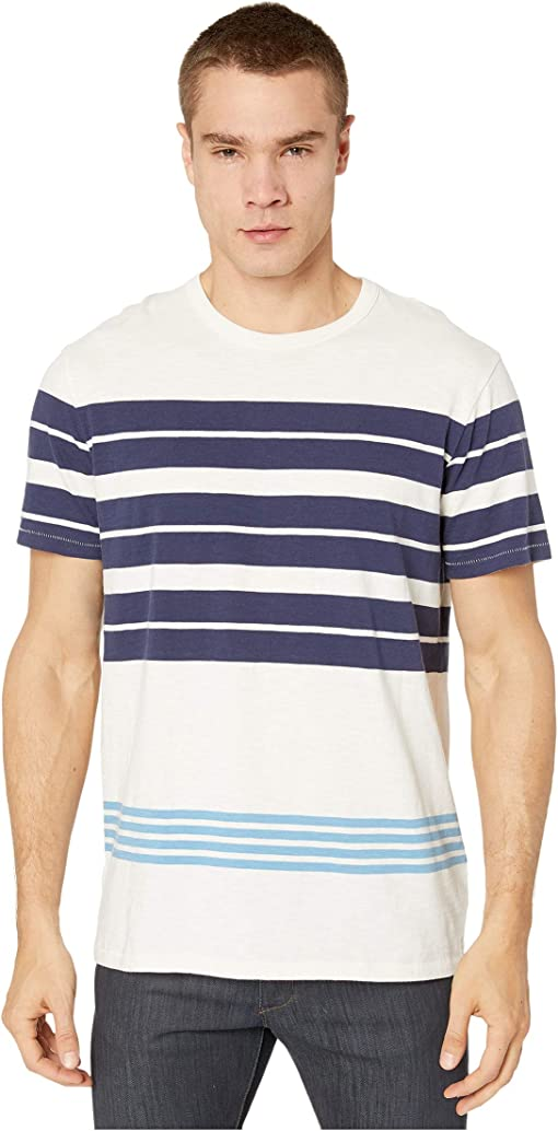 Navy English Lark Stripe