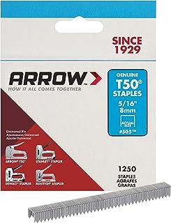 ARROW T50 Staples Box, 8 mm, 1250 stuks
