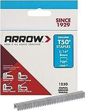 ARROW T50 Staples Box, 8mm - 5/16in, 1250 stuks