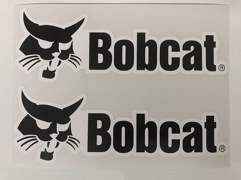 SBD Decals 2 Bobcat Logo Big B Calcomanías Nombre