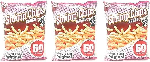 Calbee Baked Shrimp Chips 8oz, 3 Pack