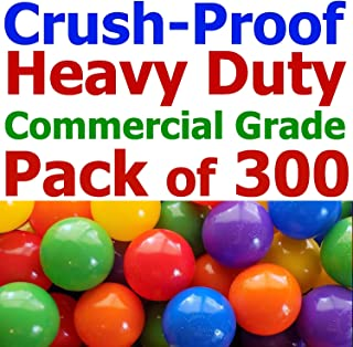 commercial grade crush proof plastic ball pit balls
