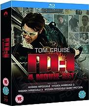 Mission Impossible: Quadrilogy (1-2-3-4 Box Set) [Blu-ray] (Region Free)
