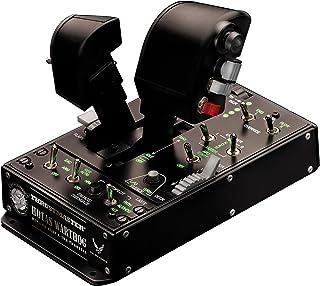 Thrustmaster HOTAS WARTHOG DUAL - Mando de potencia - PC - Réplica del mando de potencia del A-10C con licencia de la U.S....