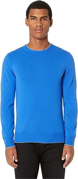 Cashmere Knit Crew Neck Sweater
