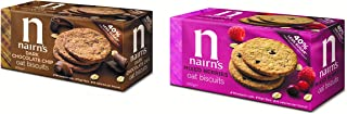 Nairn's Oat Biscuits, Assorted Flavours, 200 gm, Pack of 2