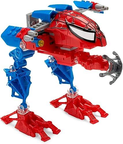 Mega Blocks - 2027 - Jeux de construction - Spiderhomme super techbot