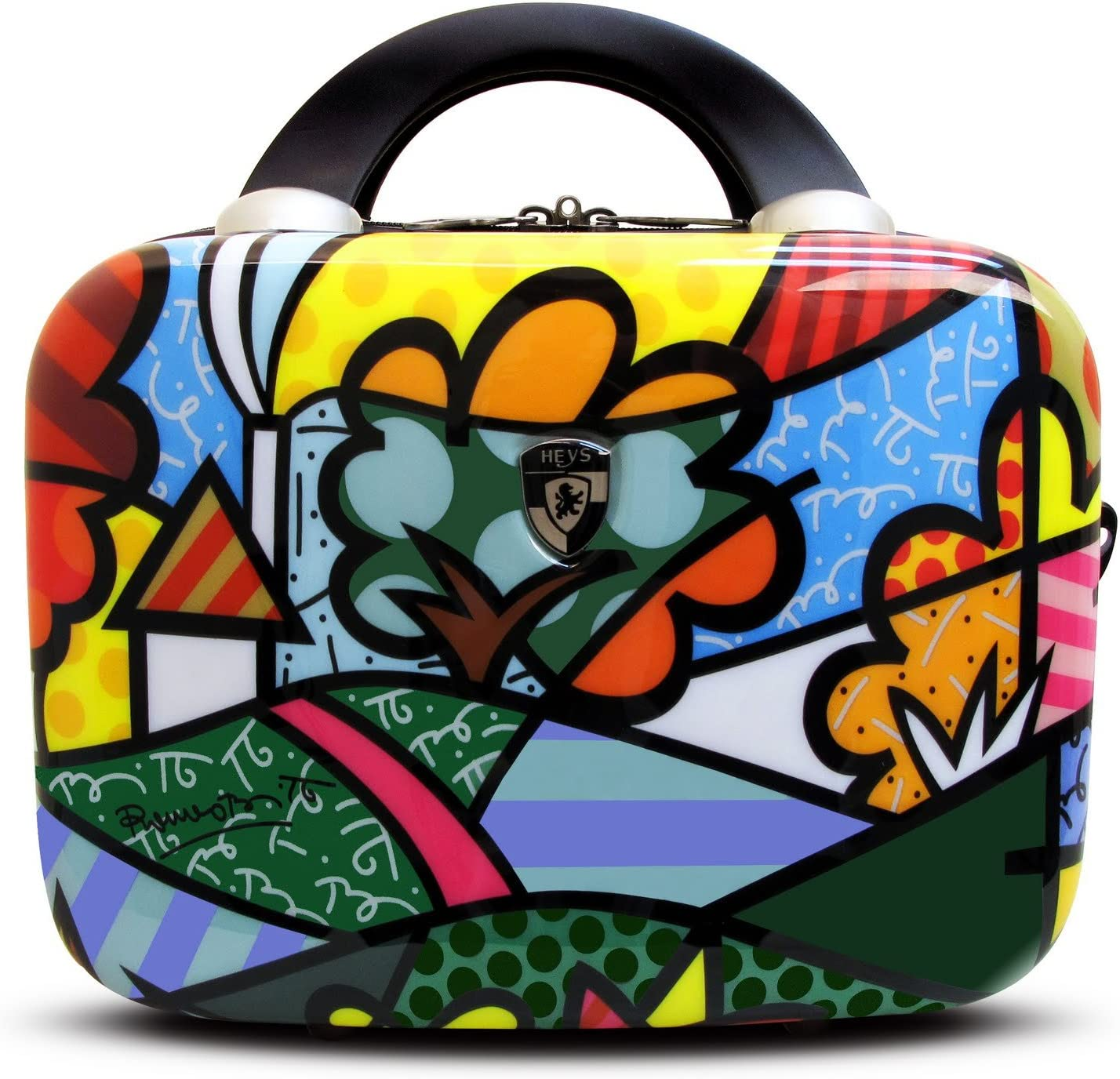 Heys Selling USA Luggage Britto Flowers Hard Multi-Col Beauty Case Side Max 79% OFF