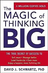 The Magic of Thinking Big (English Edition) eBook Kindle