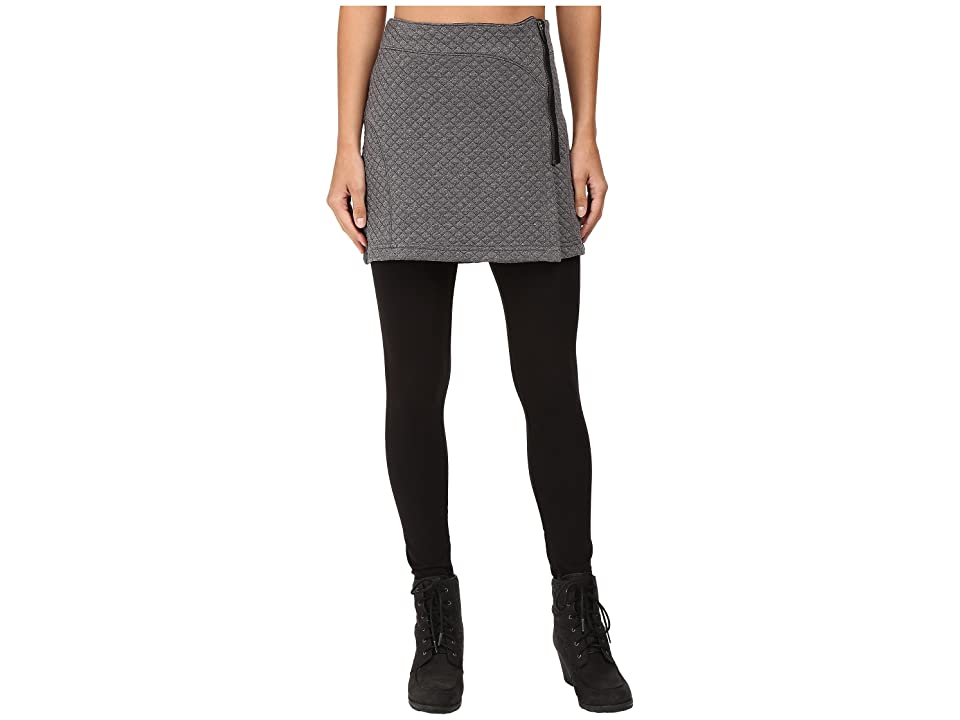 Stonewear Designs Omega Skirt (Heather Gray) Women