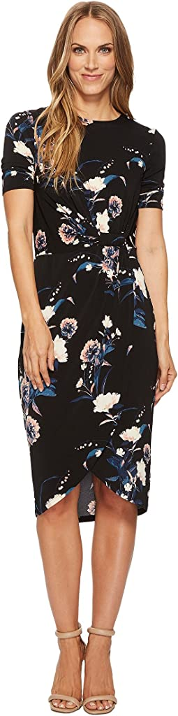 Ivanka Trump - Printed Jersey Knit Dress
