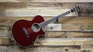 Tanglewood Winterleaf Acoustic Guitar - Burgundy Red Gloss/Rosewood - TW4SFCEBR