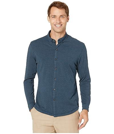 Linksoul LS208 Rambler Long-Sleeved Button Down Shirt (Ink Heather) Men