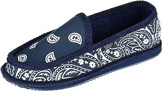 Men's Bandana Print Slip On Slipper Shoe
