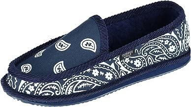 Trooper America Men's Bandana Print Slip On Slipper Shoe