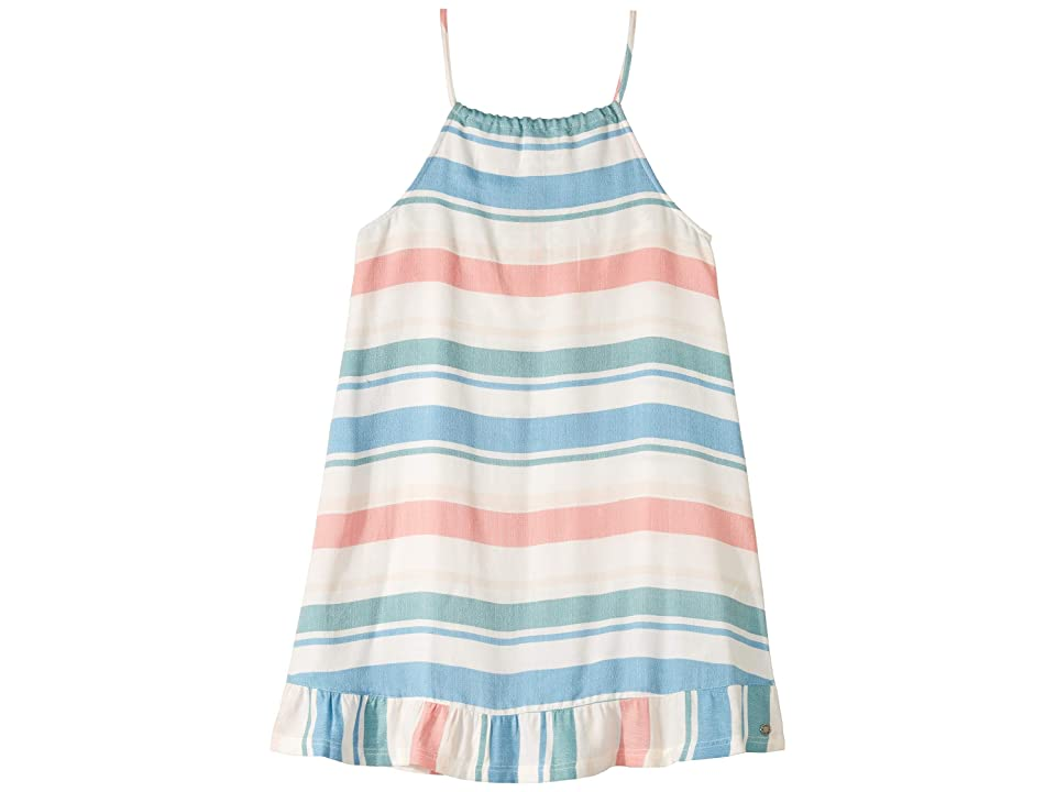 Roxy Kids First Chocolate Dress (Big Kids) (Marshmallow Fresh Stripe) Girl