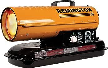 REMINGTON REM-80T-KFA-O 80,000 BTU Portable Forced Air Kerosene Heater, Orange/Black