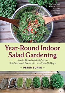 Best growing salad greens indoors year round Reviews