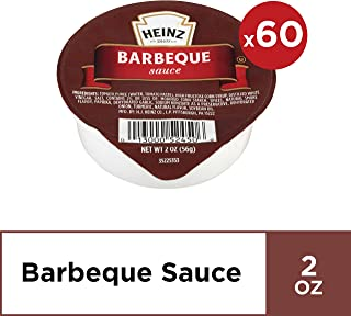 Heinz Barbeque Sauce Single Serve (2 oz Dunk Cups, Pack of 60)