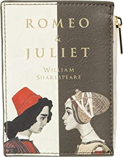 Romeo and Juliet Book Coin Purse for Literary Lovers – Card Wallet for Women By Well Read