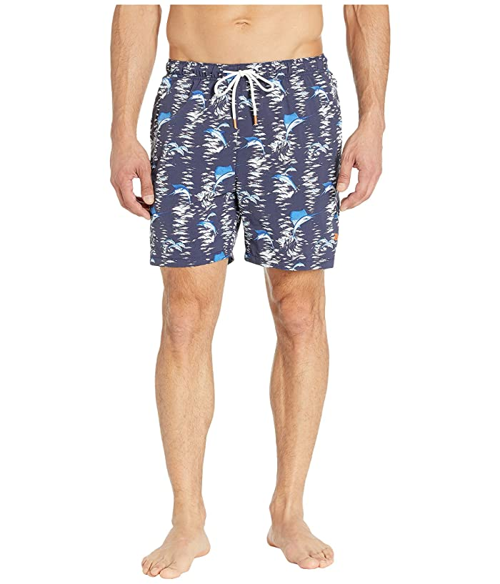 Tommy Bahama Naples Marina Marlin Swim Trunk (Island Navy) Men
