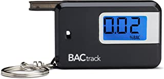 BACtrack Go Portable Keychain Breathalyzer Personal Breath Alcohol Tester - Black