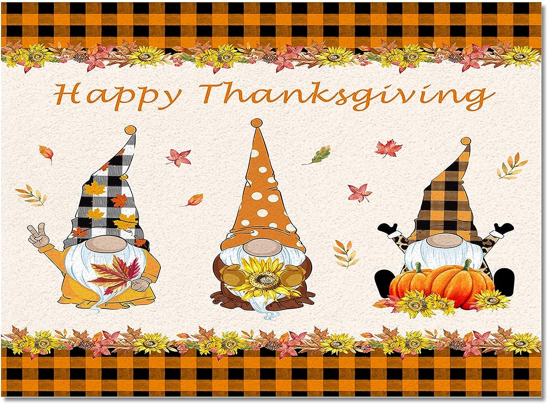 Indoor Area Rug Kitchen Bedroom Gn Floor Thanksgiving Mats shopping Ranking TOP8 Happy