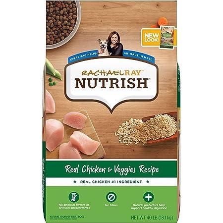 Rachael Ray Nutrish Dry Dog Food, Chicken & Veggies Recipe (Packaging May Vary)