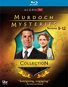 Murdoch Mysteries: Series 9-12 Collection [Blu-ray]