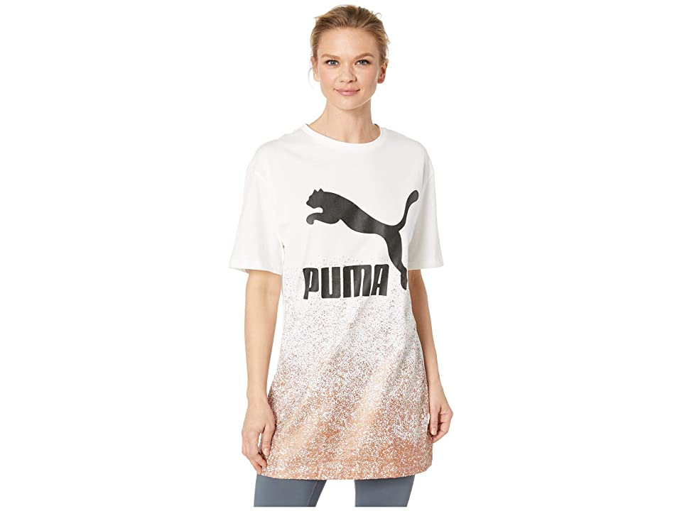 PUMA Kiss Artica Long Tee (White) Women