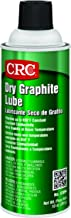 CRC Dry Graphite Lube, 10 oz Aerosol Can, Black