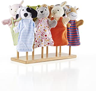 Guidecraft Wooden Puppet Stand - Store and Display Puppet Stand