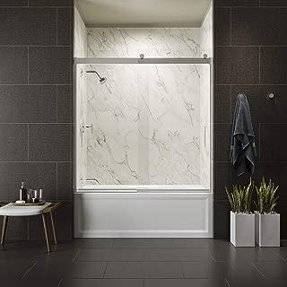 Kohler K-706003-L-SHP Sliding Bath Door, Polished Silver