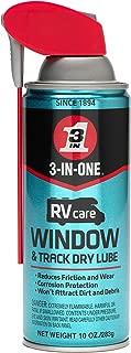 3-IN-ONE RVcare Window & Track Dry Lube with Smart Straw Sprays 2 Ways, 10 OZ