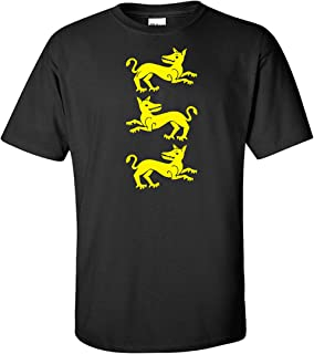 STUFF WITH ATTITUDE Clegane Sigil Black T Shirt
