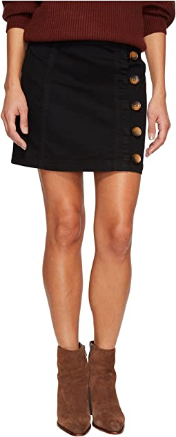 Free People Little Daisies Mini Skirt
