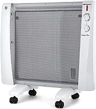 Orbegozo RM 1500 - Radiador de mica, 3 niveles de calor, termostato regulable, sistema antivuelco, protección contra sobrecalentamiento, 1500 W