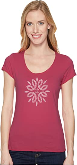 Life is Good - Flower Power Smooth Tee