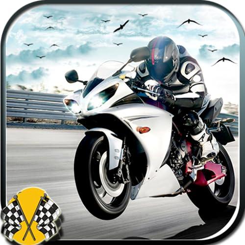 Motor Race In Traffic