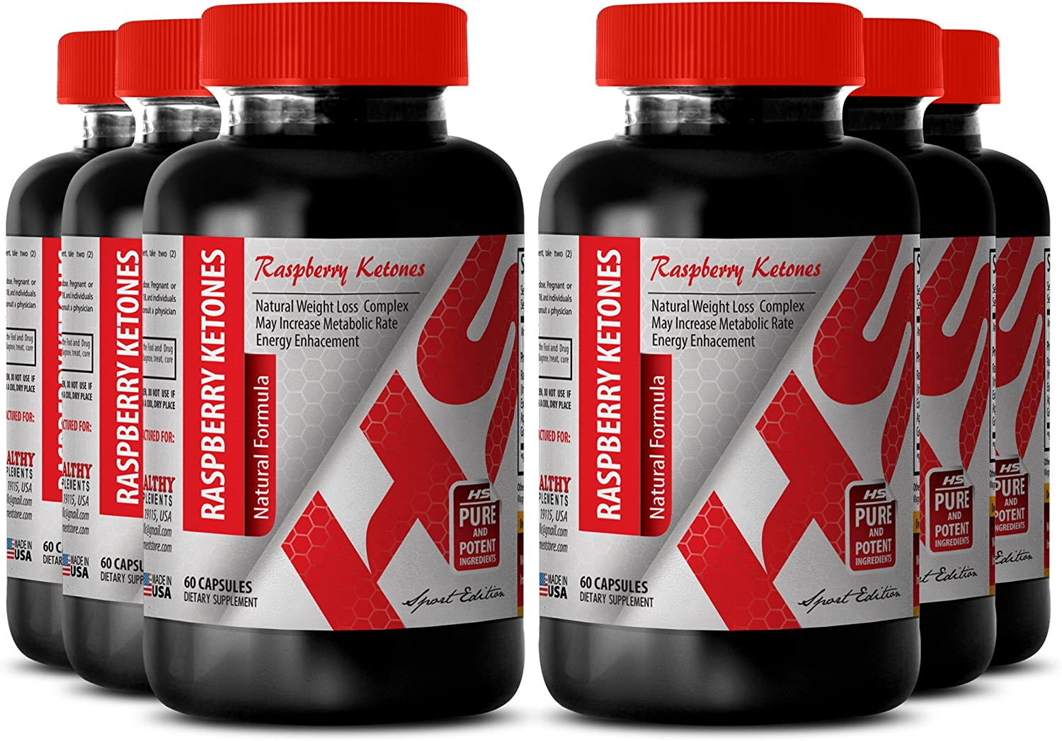 Pure Raspberry quality assurance Ketones 1200mg Formul Our shop most popular Natural -