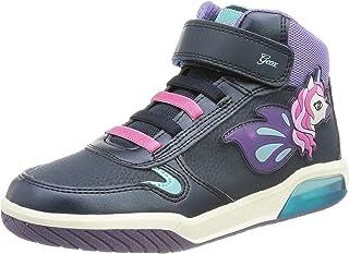 Geox J INEK GIRL C meisjes sneakers.