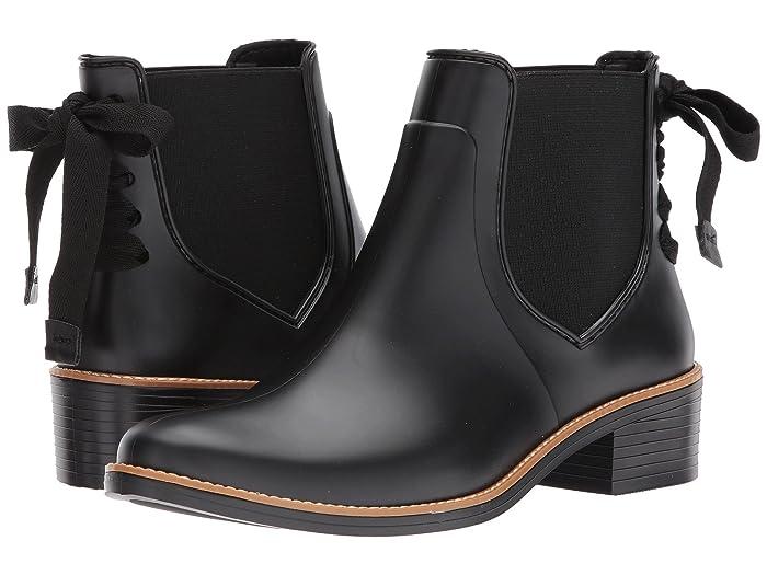 Bernardo  Paxton Rain Boot (Black) Womens Rain Boots