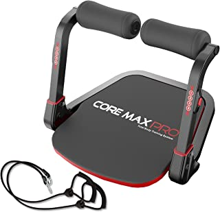 Core Max PRO with Resistance Bands - Abs and Total Body Smart 8 min Workout & Cardio