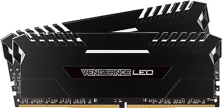 Corsair - Vengeance 2-Pack 8GB PC4-19200 DDR4 DIMM Unbuffered Non-ECC Desktop Memory Kit - Black ( CMU16GX4M2A2400C16 )