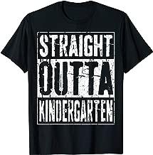 Straight Outta Kindergarten T-Shirt 2019 Graduation Gift T-Shirt