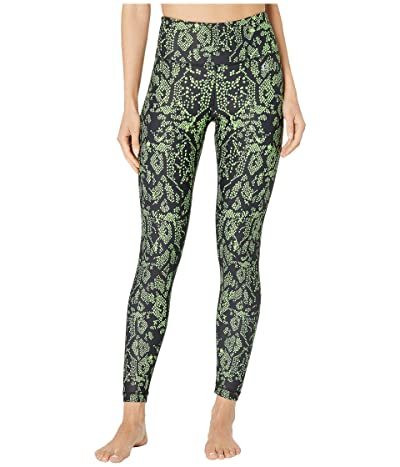 Body Language Sculpt Leggings (Neon Snake) Women