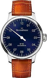 MeisterSinger - No 03 AM908 Reloj automático con sólo una aguja Diseño Clásico